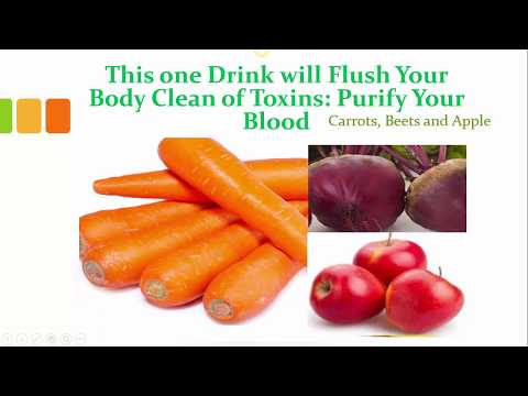 This one Drink Will Flush Toxins Out of Your Body