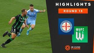 Highlights: Melbourne City v Western United – Round 13 Hyundai A-League 2019/20 Season
