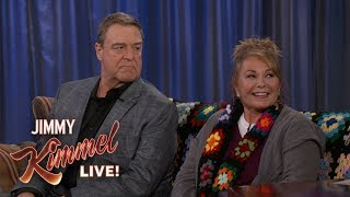 "Roseanne Barr & John Goodman on ""Roseanne"" Return"