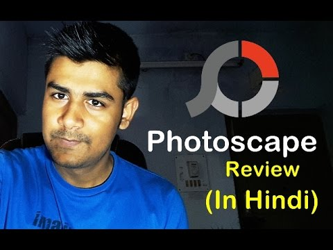 Photoscape - Easy photo editing software review (In Hindi)