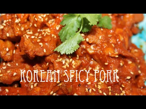 Korean Spicy Pork | Korean BBQ Pork