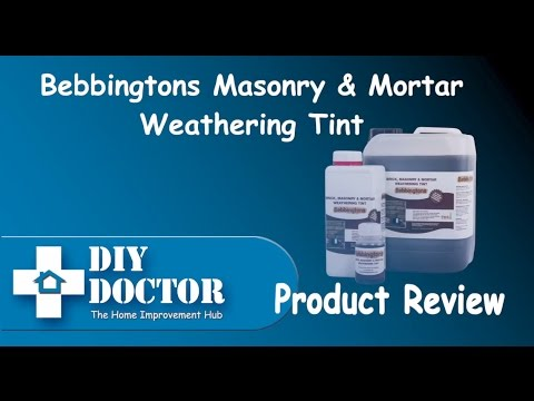 How to match existing bricks, colour and tint bricks, blocks, tiles and mortar after cleaning bricks