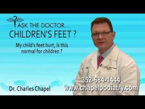 My Child's Feet Hurt, Is This Normal For Children? Spring Hill, Brooksville, FL - Podiatrist