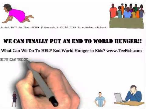 Help Tee Fish END Hunger in KIDS!!