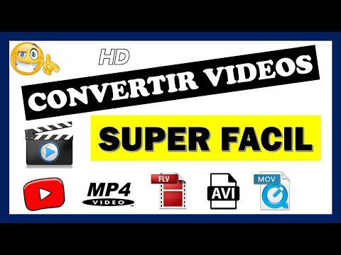 Como convertir vídeos a cualquier formato (3gp, mp4, avi, vob, etc)