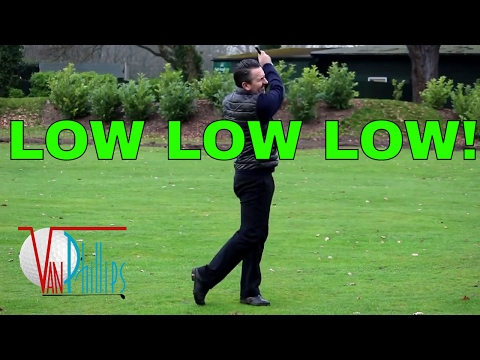 HOW TO HIT YOUR IRONS LOW