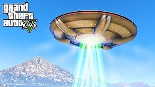ALIENS DESTROY LOS SANTOS - GTA 5 Alien Invasion Mod - Michael