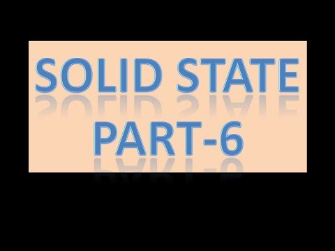 Solid state part -6 - Interplanar spacing and scattering factor formula with solved questions.