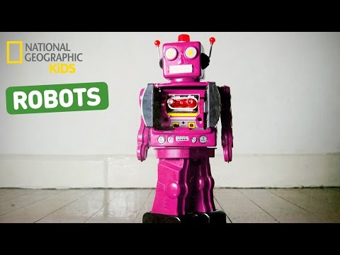 Fun Facts About Robots! | Nat Geo Kids Robots Playlist
