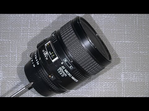 Working with the aperture system in AF Micro Nikkor 60mm 1:2.8D