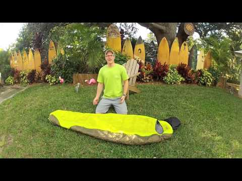 Hiking/Camping 101 How to Pack a Sleeping Bag
