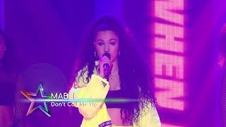Mabel  Dont Call Me Up Live At The Global Awards 2019