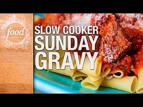Slow-Cooker Sunday Gravy