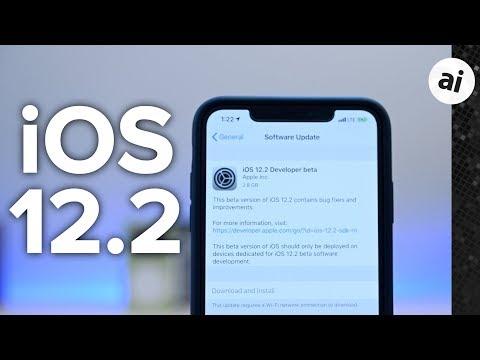 Everything New in iOS 12.2 Beta 1: HomeKit TVs, News, Remote, & More!
