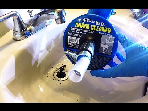 How to Fix a Clogged Bathroom Sink and Broken Drain Lever