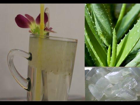 Aloe vera juice   healthy drinking   How to make aloe vera juice   Aloe vera juice for drinking