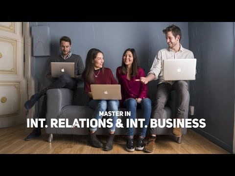 Master in International Relations and International Business