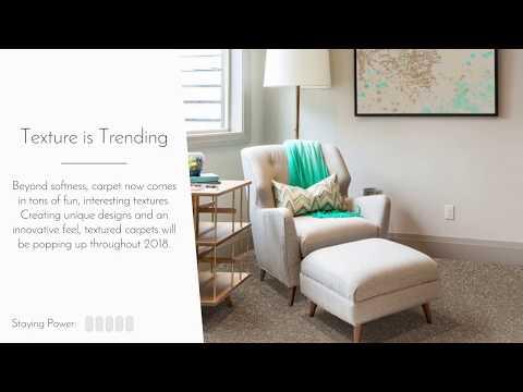 2018 Carpet Flooring Trends