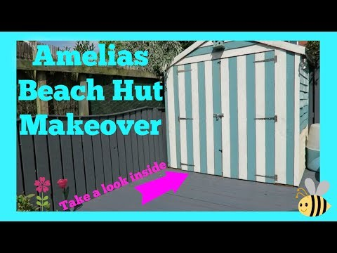 Amelias Beach Hut Makeover   Before & After   Donna Dyble
