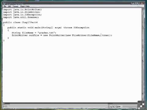 17 04 Appending Data To A File