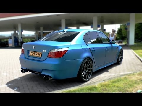 Bmw M6 In Nordschleifenrburgring E60 M5 Weight Reduction