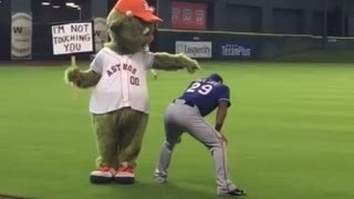 MLB Funny Mascot Moments