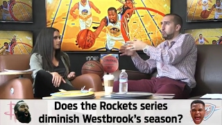 Joy Taylor and Nick Wright talk NBA Playoffs (Streamed Live on 4/20/17) | UNDISPUTED