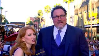 Jon Favreau Brings Happy Back At The Spider man Homecoming Red Carpet World Premiere