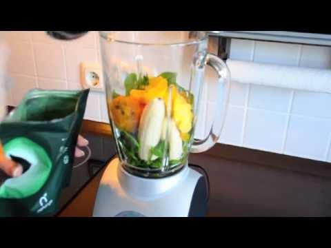 Green Smoothie Recipe with Spirulina