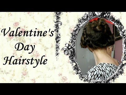 Romantic Valentine's Day Hairstyle