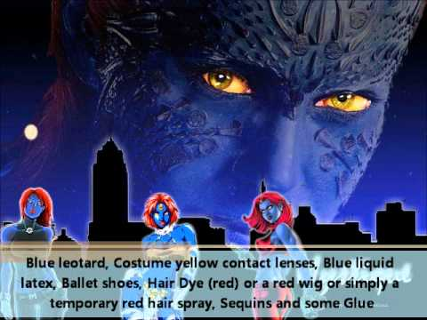 Mystique Costume -- How To.wmv