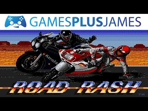 PUNCHING BIKERS IN THE FACE! - Road Rash