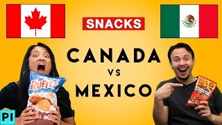 Canada Vs Mexico • The Hungry Games