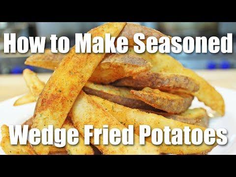 How to Make Seasoned Wedge Potatoes (Steak Fries / Jojo Potatoes)