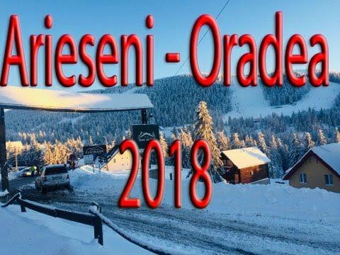 Arieseni - Oradea Iarna 2018, traseu, partie, ATV [Din masina]