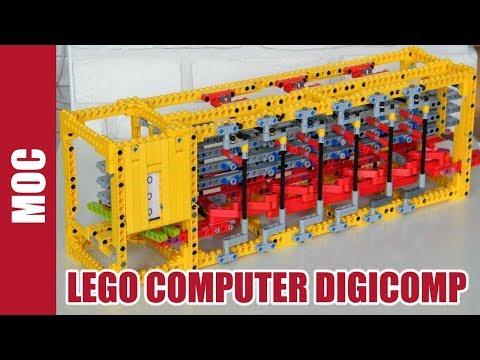 Lego Technic - Computer : Digicomp by Nico71