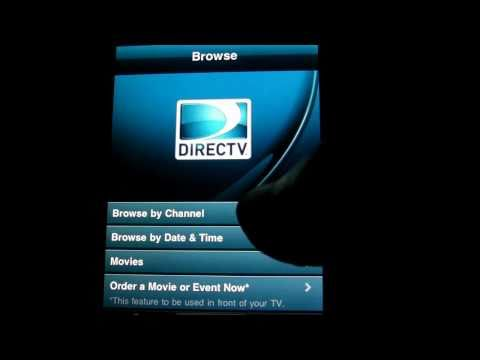 DirecTV iPhone & iPod Touch App Review