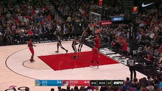 2nd Quarter, One Box Video: Portland Trail Blazers vs. Golden State Warriors