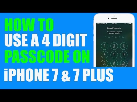 How To Change An iPhone Or iPad Passcode From Six Digits Back To Four Digits In iOS 10.0.2
