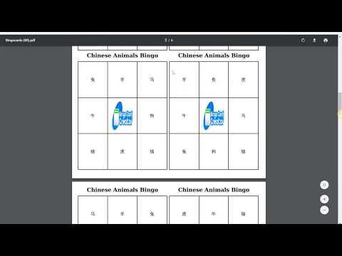 Creating Custom Bingo Cards for Language Educators
