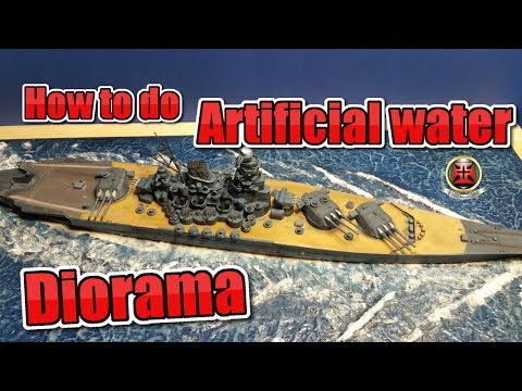How to do artificial water for dioramas II