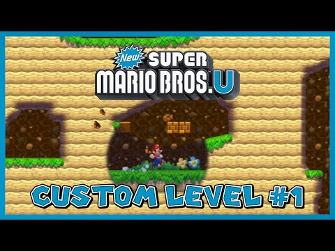NSMBU Custom Level #1 - Overworld Cavern
