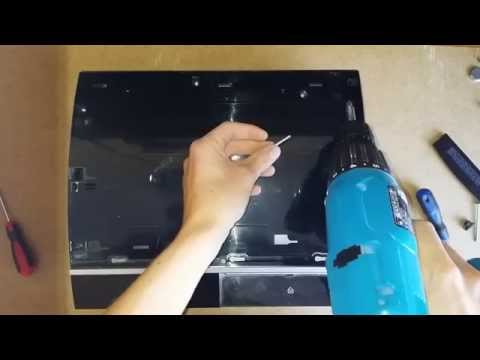 Disassembly Sony PS3 FAT 80GB CECH M03 Step by Step