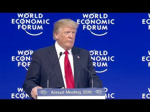President Donald Trump heads to Davos, new revelations in the Russia investigation