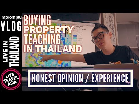 How to Buy a Condo House and Make a Living Teaching English in Bangkok Thailand