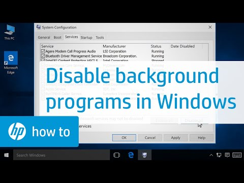 How to Disable Programs Running in the Background in Windows