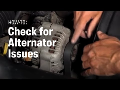 When to Replace your Alternator - AutoZone Car Care