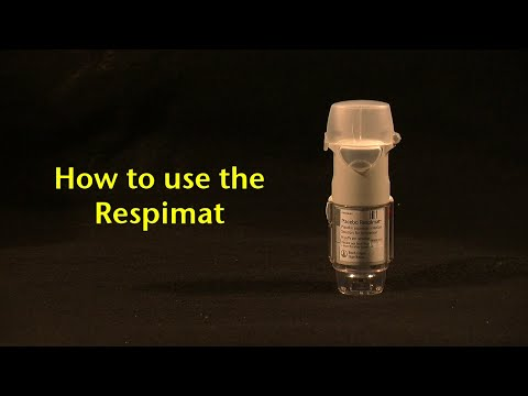 How to use the Respimat (2015 version)