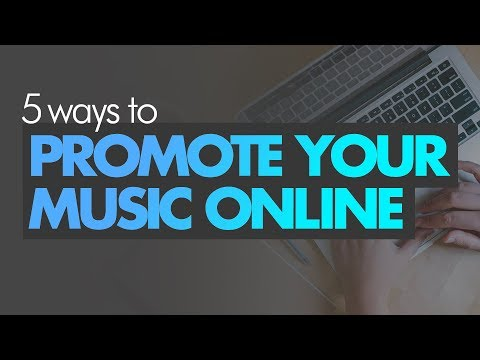 5 Ways To Promote Your Music Online in 2018 📢💯