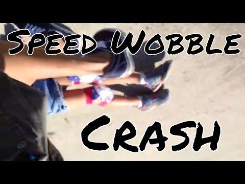 speed wobble crash